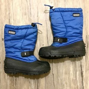 Blue Sorel Snow Boots Boys
